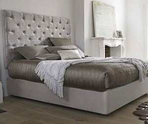 bed, shop, and furniture image