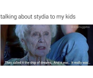teen wolf, stydia, and tw image