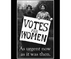 activism, vote, and womens rights image