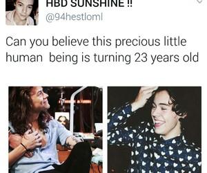 23, happy birthday, and Harry Styles image