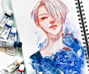 art, manga, and viktor image