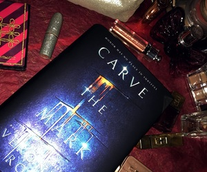 book, mark, and carve image