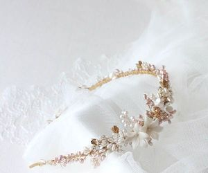 wedding, accessories, and bridal image