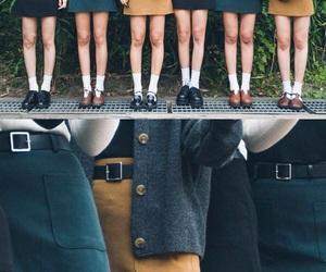 asian, fashion, and skirt image