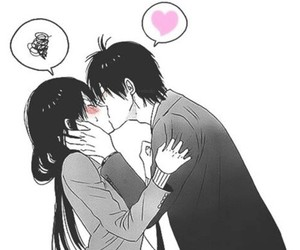 kiss, anime, and love image