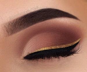 eyebrow, girly, and eyelashes image