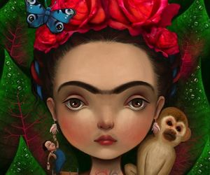 art, frida kahlo, and diego image