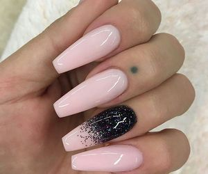 beautiful, nail art, and long nails image