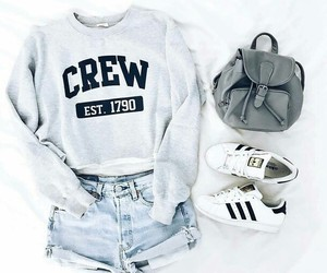 adidas, bag, and outfit image