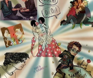 fanart, larry, and louistomlinson image
