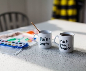 cups and paint image