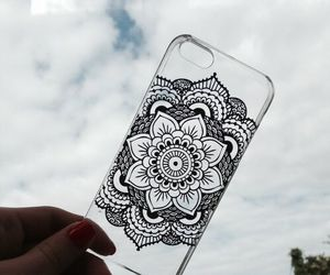 case, iphone, and cover image