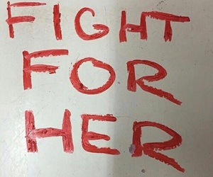 fight, quotes, and red image