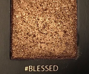 makeup, blessed, and gold image