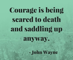 brave, courage, and inspiration image