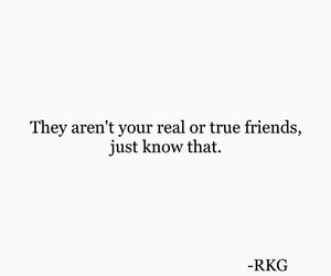 fake, friendship, and quote image