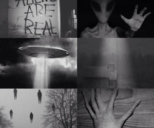alien, real, and ufo image