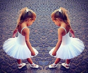 baby, dance, and dress image