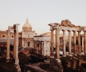 travel, architecture, and rome image