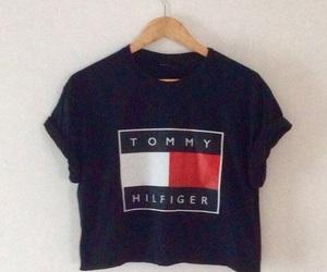 tommy hilfiger, fashion, and tshirts image