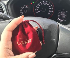 car, cartier, and luxury image