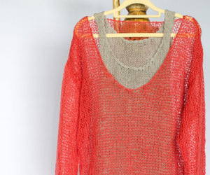 boho, etsy, and red blouse image