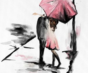 etsy, red umbrella, and wedding gift image