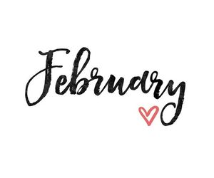 february and hello february image