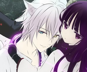couple, inu x boku ss, and soushi miketsukami image