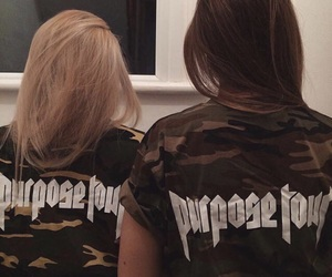 justin bieber and purpose tour image