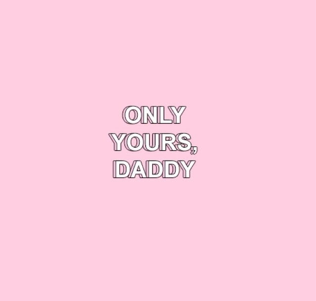 daddy and pink image