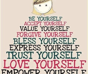 quotes, yourself, and trust image