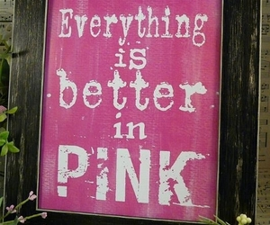 pink, girly, and better image