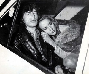 mick jagger and Jerry Hall image