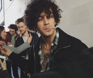 the 1975, matty healy, and grunge image