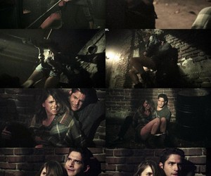 teen wolf, tyler posey, and ghost riders image