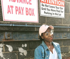 beautiful, black girl, and brick image