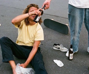 80, sexy boy, and skater image