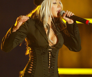 2003, christina aguilera, and stripped era image