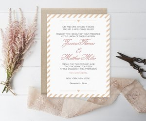 invitation, wedding, and wedding invitation image