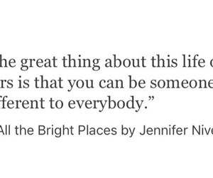 book and all the bright places image