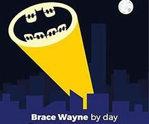 batman, braces, and comic image