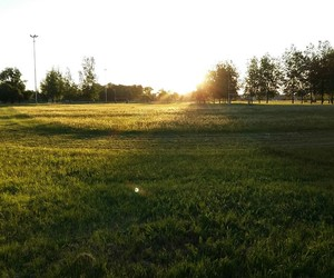 atardecer, verde, and terreno image