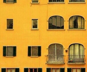 yellow, aesthetic, and building image