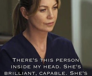 afraid, brilliant, and greys anatomy image