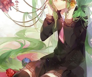 flowers, anime, and vocaloid image