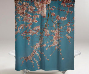 fashion, women, and shower curtains image