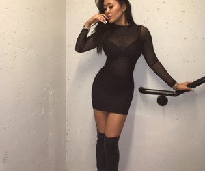 asian, boots, and girl image