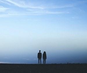 couple, sky, and tumblr image