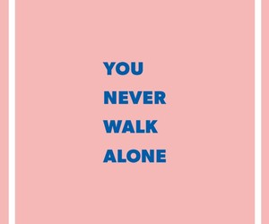 wallpaper, bts, and you never walk alone image